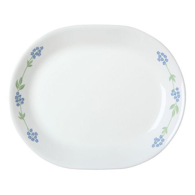 """Livingware Secret Garden 12.25"""" Serving Platter"""