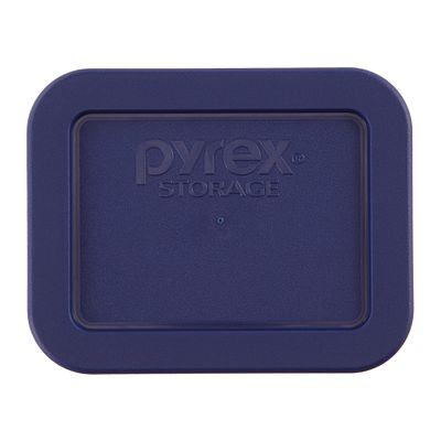 Pyrex 1.9 Cup Oblong Plastic Lid, Blue