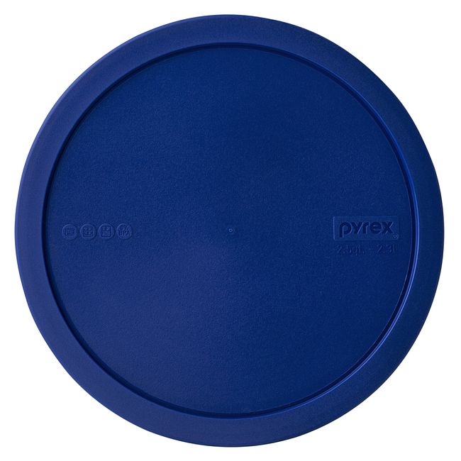 Blue Plastic Lid for Watercolor Collection 2.5-quart Mixing Bowl