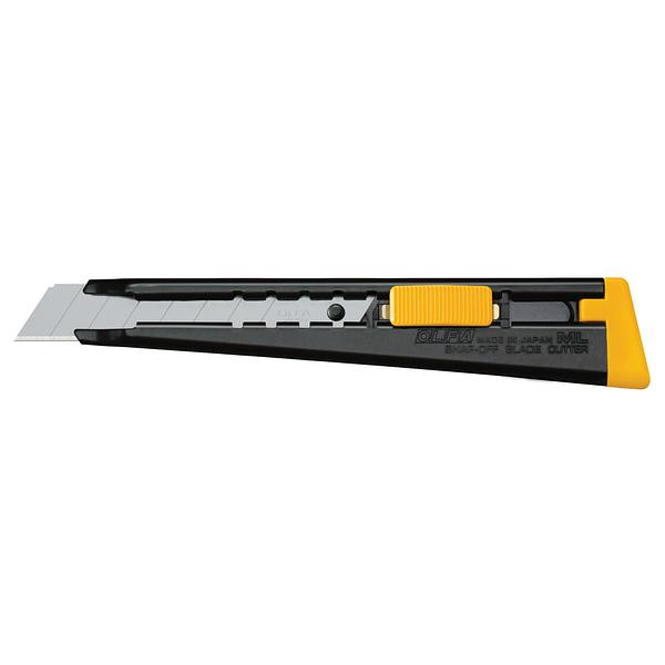 18mm Multi-Purpose Metal Handle Utility Knife (ML)