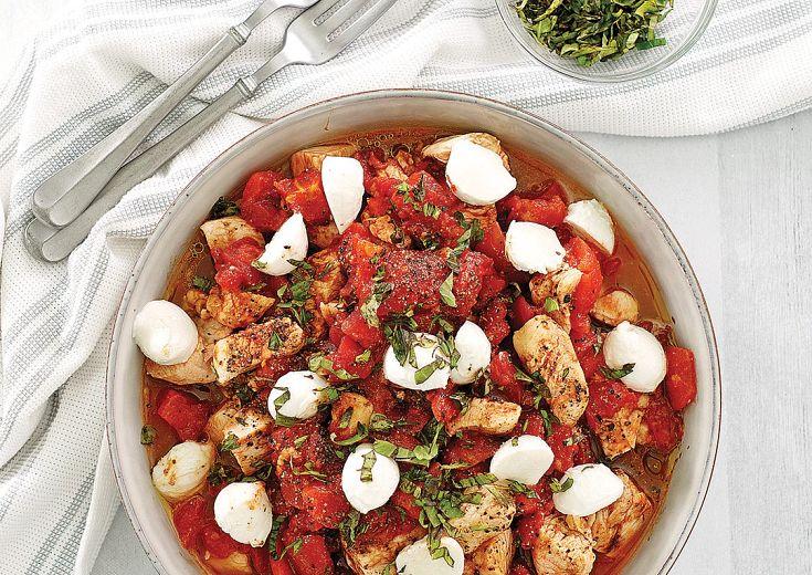 Insalata Caprese Chicken Bowls