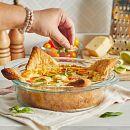 "Deep 9.5"" Round Baking Dish"