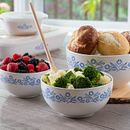 60th Anniversary Cornflower 3-pc Mixing Bowl Set