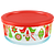 Simply Store® 4 Cup Ornaments Storage Dish w/ Red Lid On