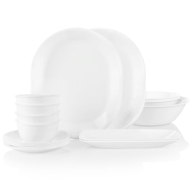 Winter Frost White 17-piece Party Pack