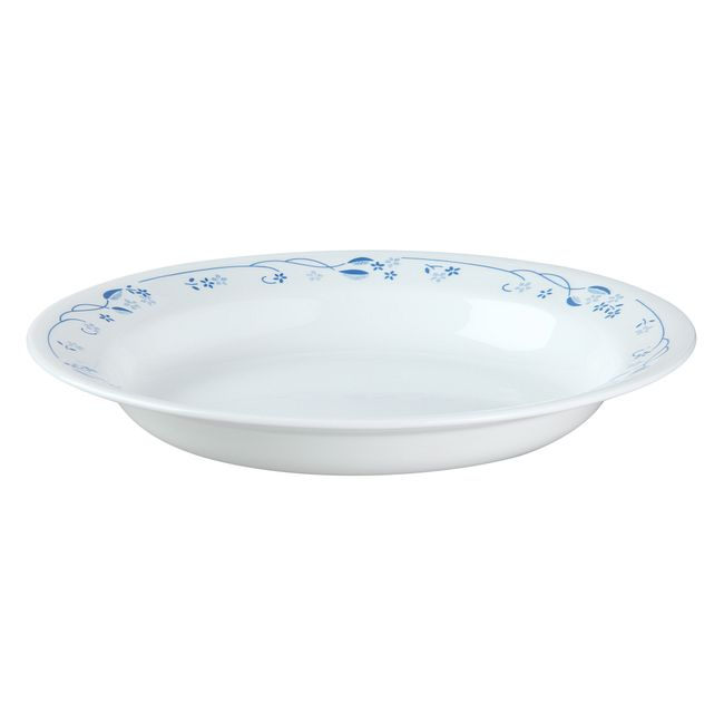 Provincial Blue 15-ounce Rimmed Cereal Bowl