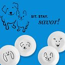 "My Best Friends 6.75"" Appetizer Plates, 8-pack"
