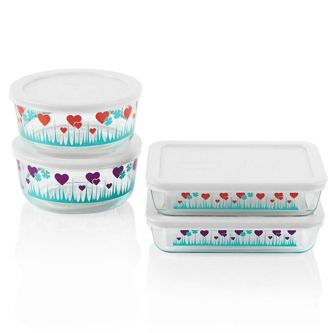 Simply Store® 8-pc Lucky in Love Storage Set