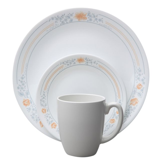 Apricot Grove 16-piece Dinnerware Set, Service for 4