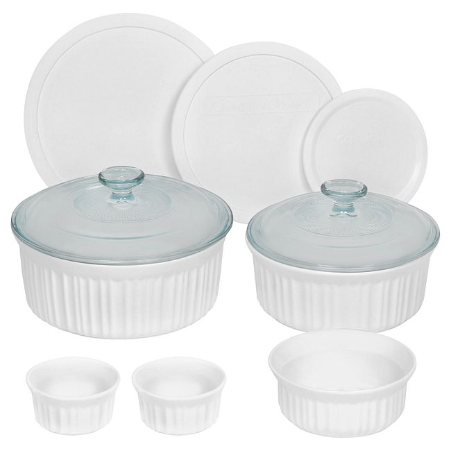 French White 10-pc Round Set
