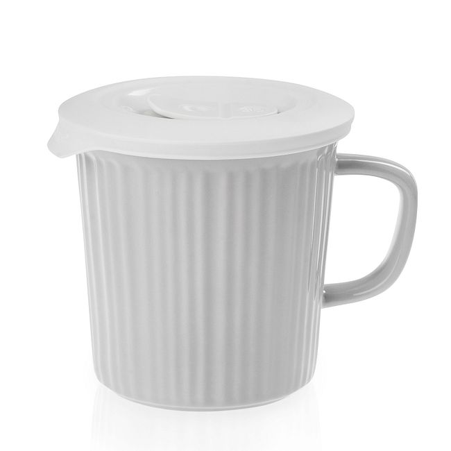 Truffle 24-ounce Meal Mug™ with White Lid