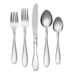Evanston Mirror 45-pc Flatware Set w/ Buffet Server