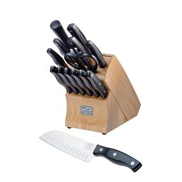 Metropolitan® 15-pc Block Set with Knife in front