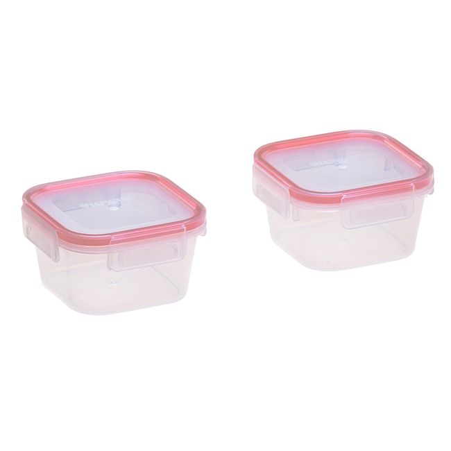 Airtight 4-piece Plastic Food Storage Container Set