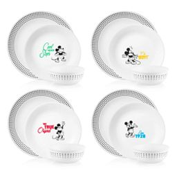 12-pc Dinnerware Set: Mickey Mouse™ - The True Original