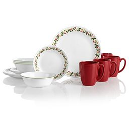 Classic Holiday Berries 16-pc Dinnerware Set