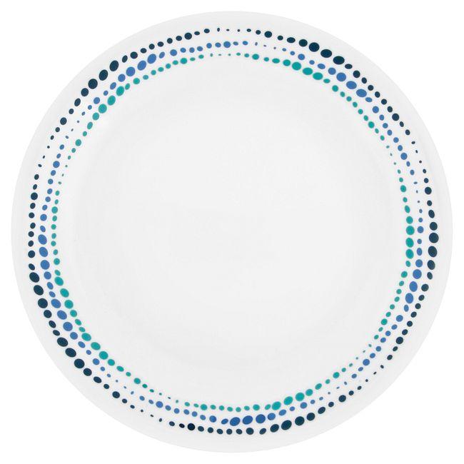 "Livingware Ocean Blues 8.5"" Plate"