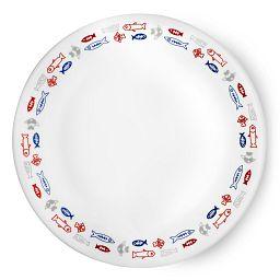 """Livingware Harbor Town 8.5"""" Plate"""