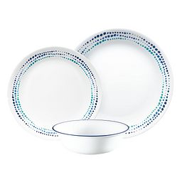 Ocean Blues 12-pc Dinnerware Set