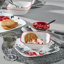Chelsea Rose 16-piece Dinnerware Set, Service for 4
