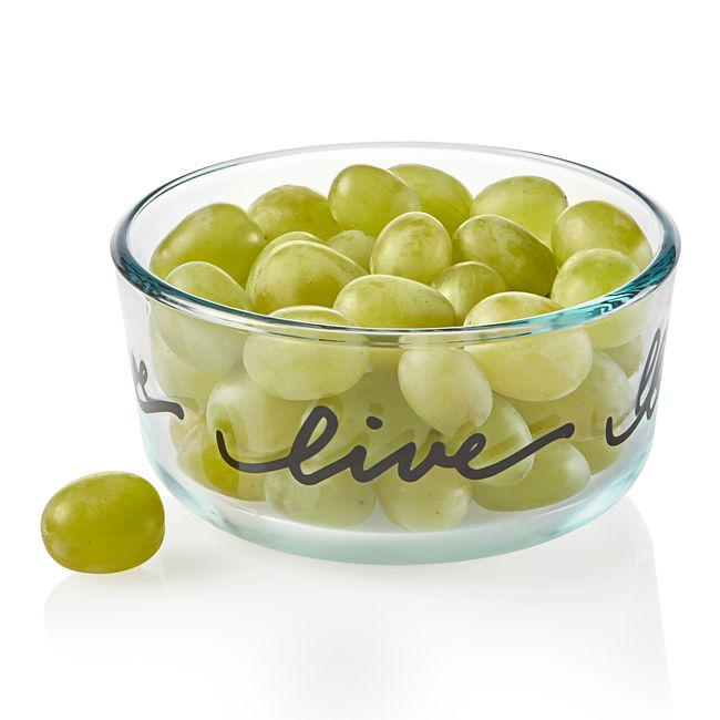 Celebrations Live 2-cup Glass Food Storage Container (Lid Sold Separately)