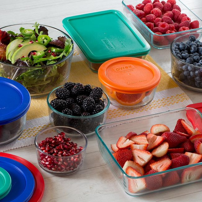 18-piece Glass Food Storage Container Set with Lids
