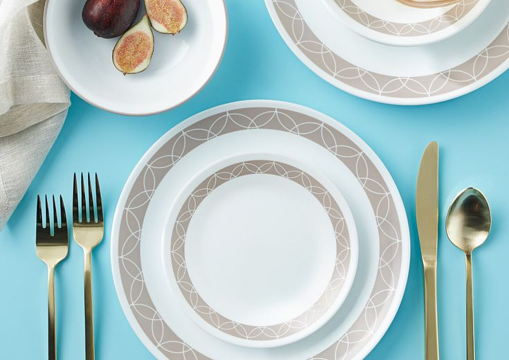 tan corelle patterns