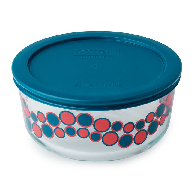 Simply Store 4 Cup Bubblegum Cirque Storage Dish w/ Lid