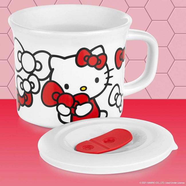 Hello Kitty® 20-ounce Meal Mug™ with Lid