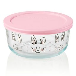 cup Easter Hippity Hoppity Storage Dish with Lid On