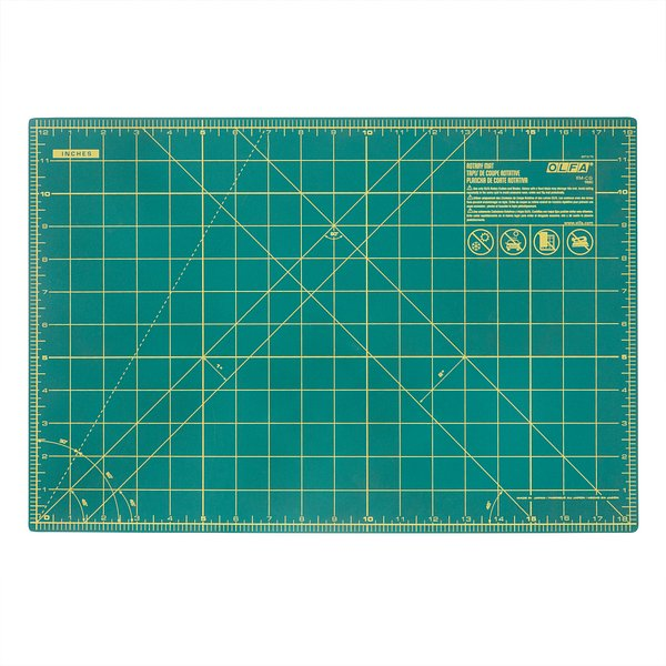 12″ x 18″ Double Sided Rotary Mat (RM-CG)