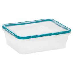 Total Solution™ Rectangle 8.39 cup Plastic Food Storage Container