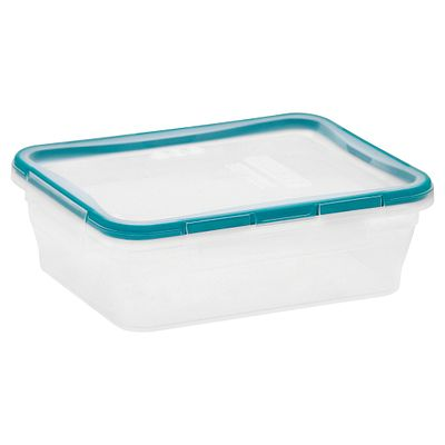 Snapware Total Solution Plastic Food Storage 8.39 Cup, Rectangle