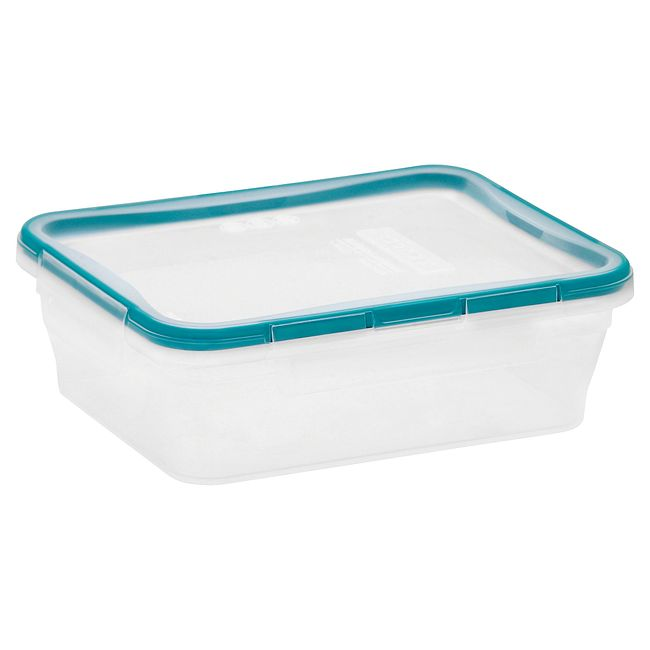 Total Solution Plastic Food Storage 8.39 Cup, Rectangle