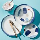Vivid Splash 18-piece Dinnerware Set, Service for 6
