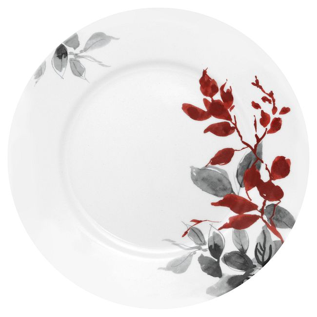 "Kyoto Leaves 10.75"" Dinner Plate"