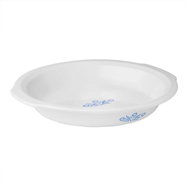 """Cornflower  9"""" Pie Plate"""