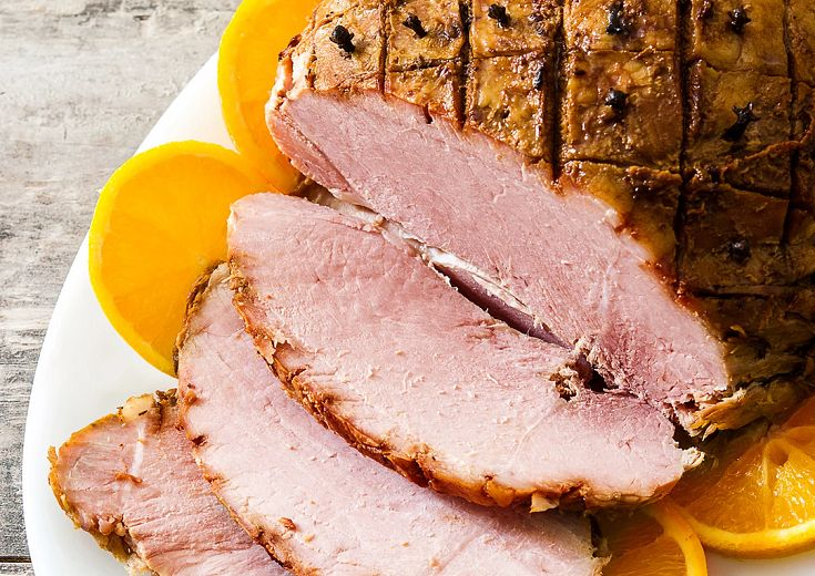 Orange and Honey Baked Ham