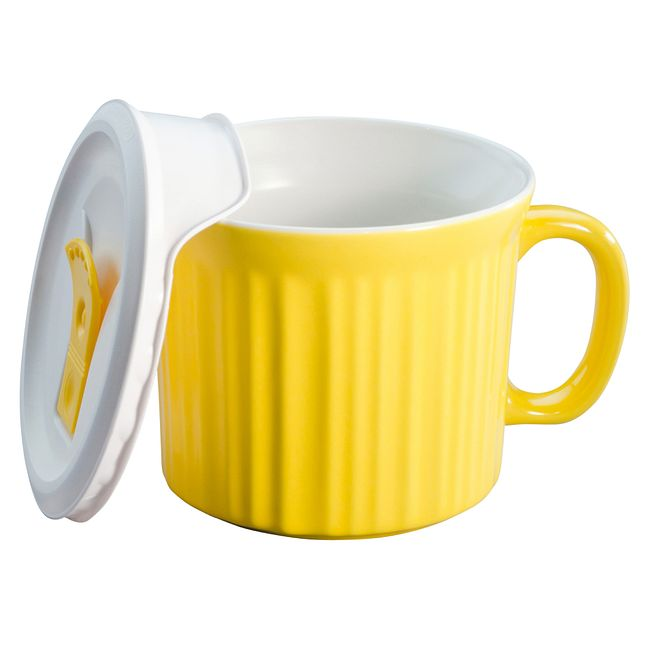 Colours Curry 20-oz Meal Mug w/ Lid