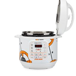Star Wars™ BB-8 Instant Pot® Duo™ Mini 3-Qt. Pressure Cooker shown with lid up