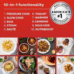 Instant Pot® Pro™ Plus 6-quart Multi-Use Pressure Cooker