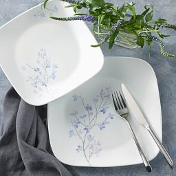 Jacaranda 18-piece Dinnerware Set on the table