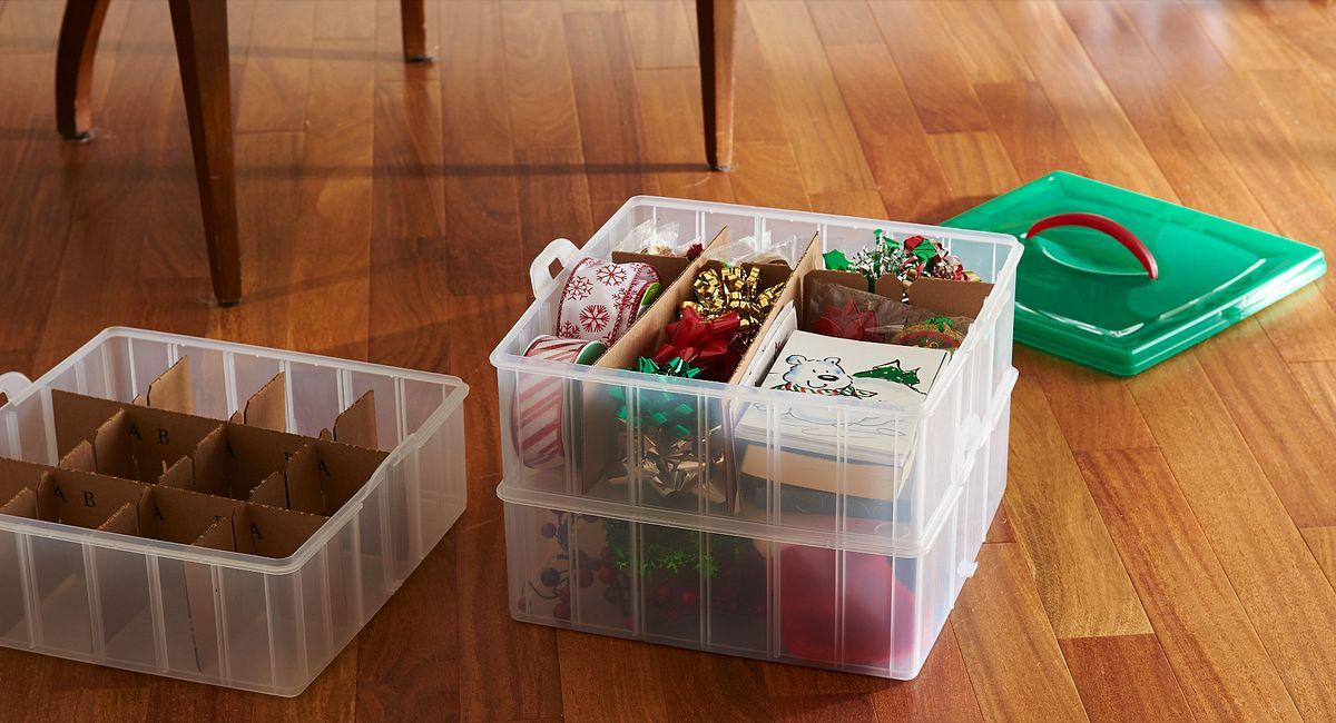 10 Ways to Maximize Decoration Storage Using Common Household Items!