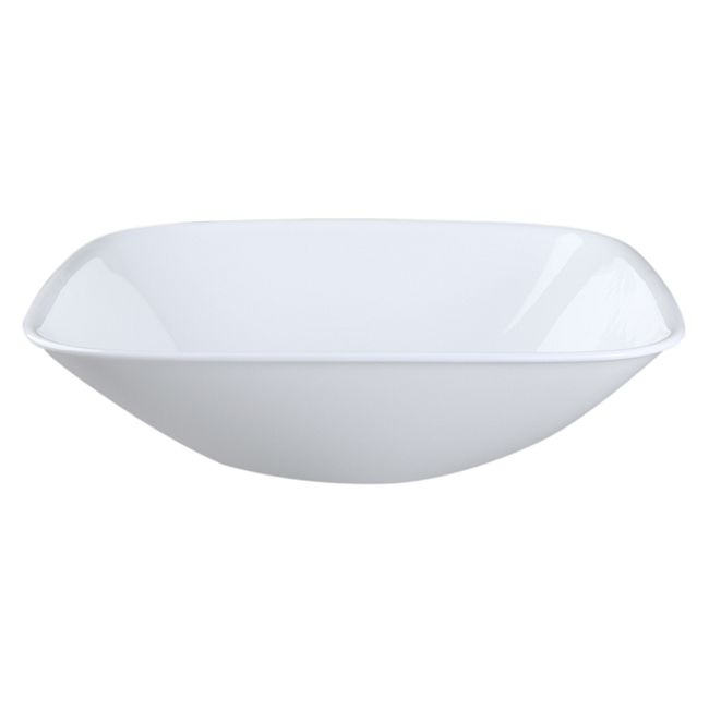 Square Pure White 1.5-qt Serving Bowl