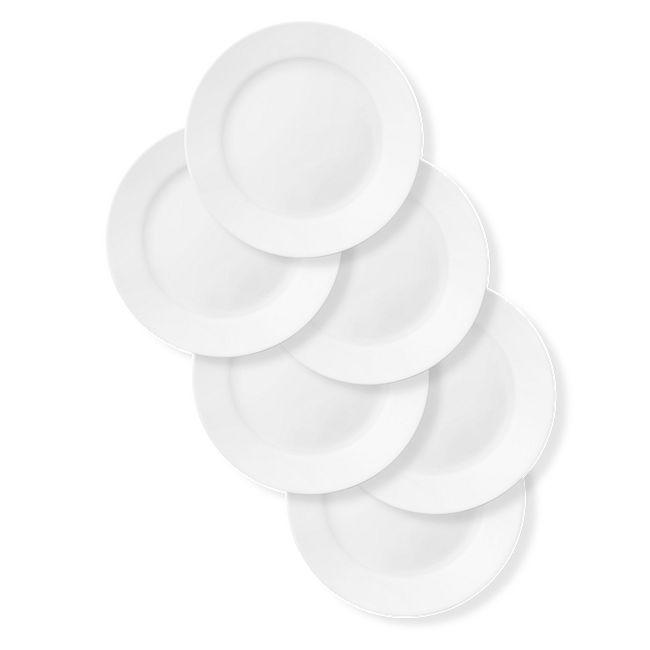 """Dazzling White 10.75"""" Dinner Plates, 6-pack"""