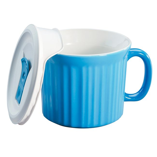 Colours Pool 20-oz Meal Mug w/ Lid