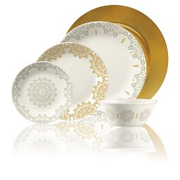 Market Street New West End 5-pc Dinnerware Setting