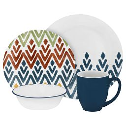 Zamba 16-pc Dinnerware Set
