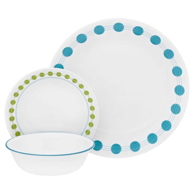 South Beach 18-piece Dinnerware Set, Service for 6