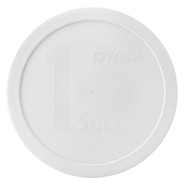 White Lid for 1.5-quart Mixing Bowl